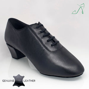 Classic Latin Mens Shoe in Leather Thunder 460