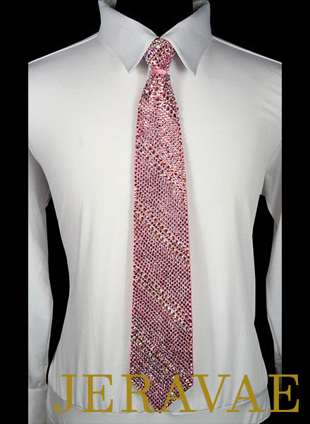 SOLID STONED BALLROOM TIE, ANY PATTERN INCLUDING CUSTOM