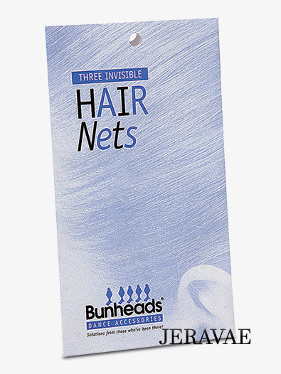 Bunheads Hair Nets for Ballroom Competition Hair Styles Available in 4 Colors