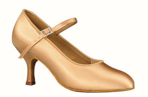 Dance America Ladies Smooth Shoe with Adjustable Strap Brooklyn