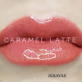 #1202 Caramel Latte LipSense Lip Color. Long-Lasting Warm Medium Coral Brown with a Shimmer Vegan Lipstick