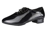 Dance America Men's Patent Ballroom Shoe Denver
