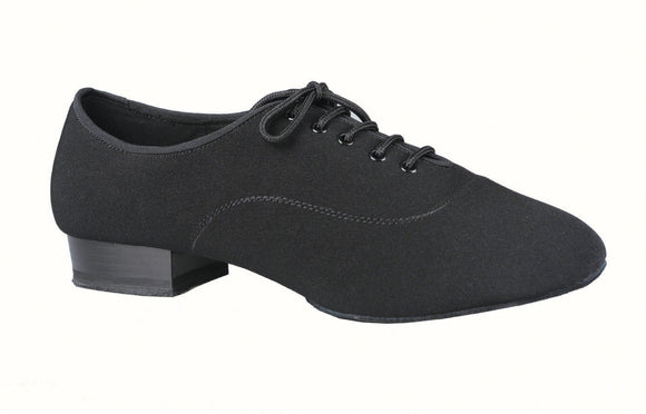 Elasticized Lycra/Canvas Blend Mens Ballroom Shoe Dance America Jackson