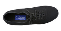 Dance America Elasticized Lycra/Canvas Blend Men's Ballroom Shoe Jackson