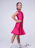 Girls Sleeveless Dress with Lace Detail on the Back BRK011
