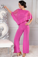 Wide leg Latin, Ballroom or Yoga Pant by Dance America P901