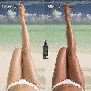 Isner Mile Long Lasting Sunless Tanning Lotion.  Sleep in Tanner For Competition Color