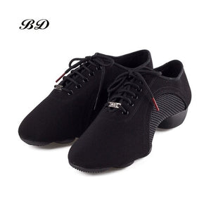 BDDANCE Latin or Ballroom Practice Dance Shoes or Jazz Sneakers.  For Women or Men. Available in Leather or Canvas BD JW-1