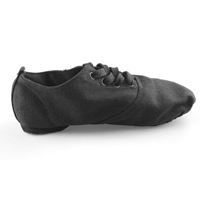 Michael Black Suede Men's/Boys Canvas Jazz Dance Shoes with Split Sole