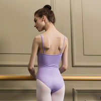 Aurora Sansha Women's Leotard with Cotton Lining and Spaghetti Straps Available in 8 Colors