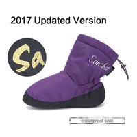 Sloan Adult Ballet Warm Up Boots/Slippers Medium Hight Outsole Women