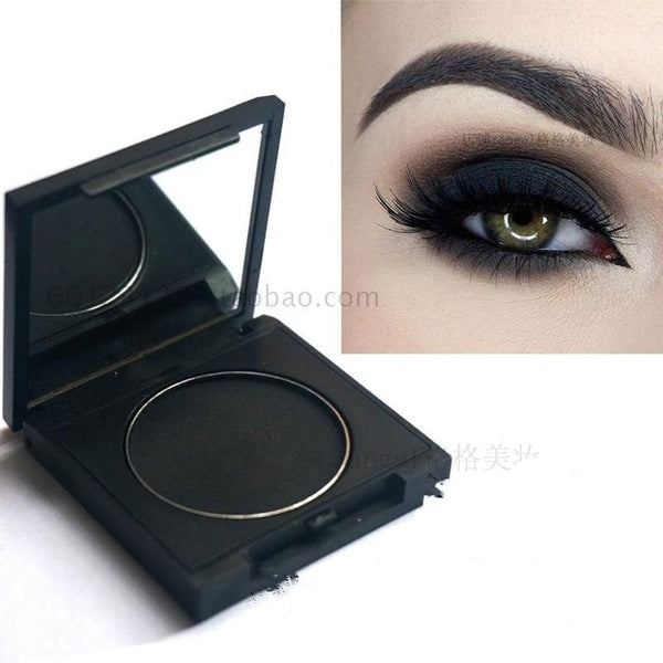 LAST ONE!!! Natural ingredients Dark Black Eye Shadow For Latin and Ballroom Dancers Long Lasting for Full Competition Day Ma00