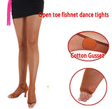 Toeless Fishnet Stocking Tights without Seams.  One Size