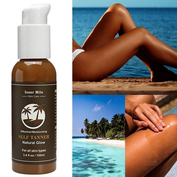 Isner Mile Dark Self Tanning Lotion For Latin, Ballroom, Rhythm and Smooth Dancing.  Great Competition Color.