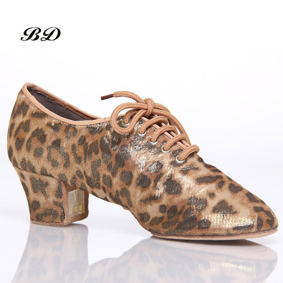 BD Brand Ladies Cuban Heel Practice Shoe in Multiple Color Options and Your Choice of Split Shank or Straight