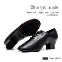 BD Ladies Cuban Heel Practice Shoe in Multiple Color Options and Your Choice of Split Shank or Straight