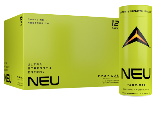 🌴🍍 Tropical Punch - NEU Ultra Strength Energy + Nootropics