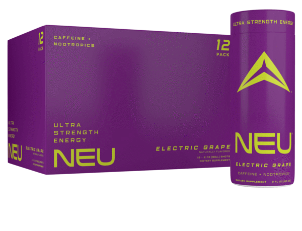⚡️🍇Electric Grape - NEU Ultra Strength Energy + Nootropics