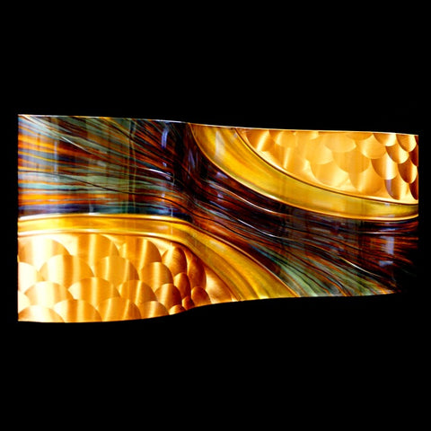 "Copper ""Passages""  14"" x 40"""