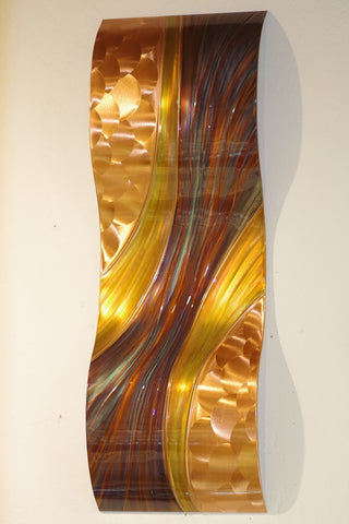 "Copper Passages 14"" x 40"""