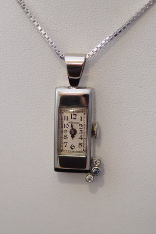 Vintage Tavannes Watch Pendant