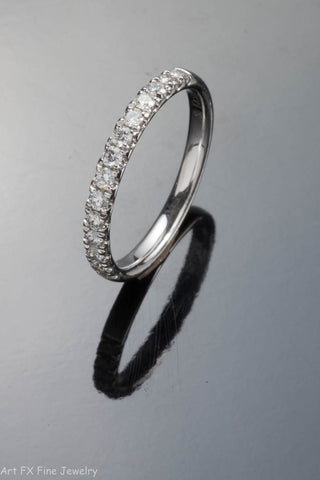14k White Gold .35 Carat Diamond Ring