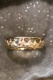 14k Yellow Gold Custom Carved Ring