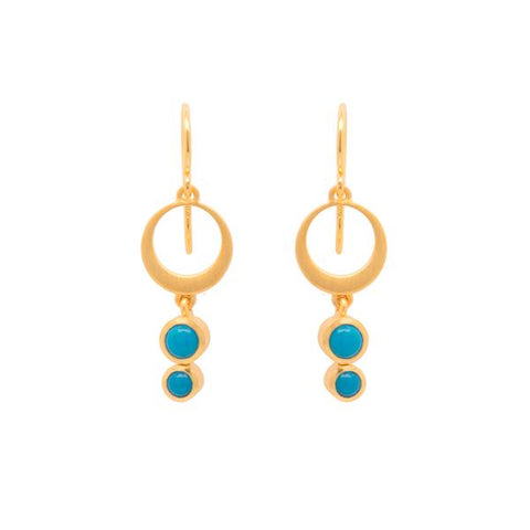 Sterling Sliver Turquoise Earrings