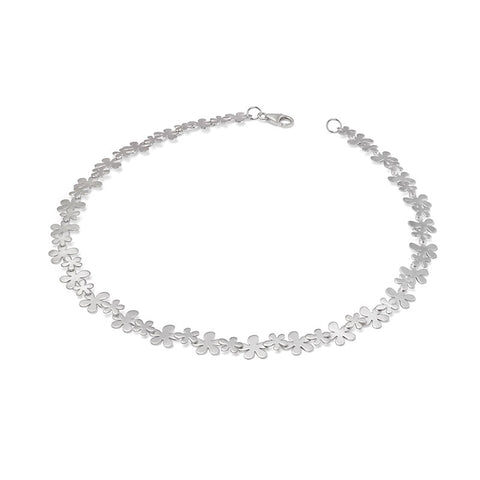 Sterling Silver Buttercup Necklace