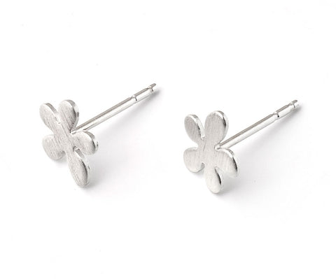Sterling Silver Small Buttercup Earrings