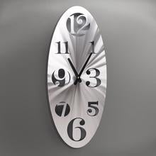 Vertical Oval Clock