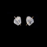 Lucid Rock Stud Earrings