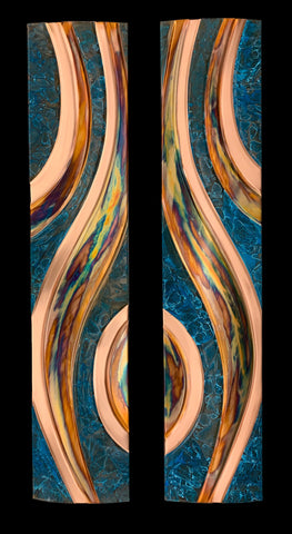 Copper Art Single Angel Wing Panel (Right)