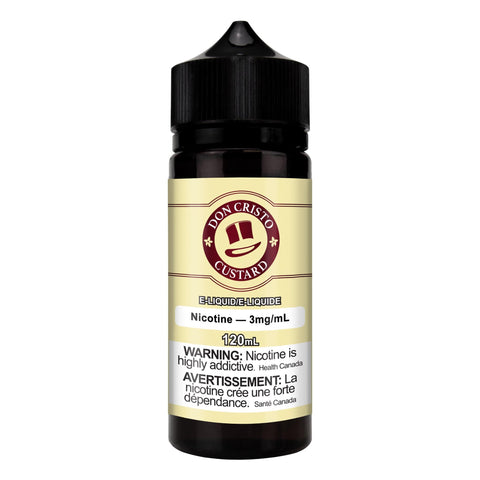 DON CRISTO DCC (CUSTARD) 120ml DON CRISTO DCC (CUSTARD) 60ml vape shop vape store wii vape gta york toronto ontario canada best price cheap #1  shop number one shop in toronto Herbal Vape dry herb concentrates Shatter Dabs Weed Marijuana weed