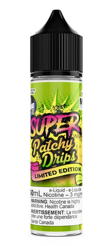 Mind Blown Vape Co – Super Patchy Drips 60ml vape shop vape store wii vape gta york toronto ontario canada best price cheap #1  shop number one shop in toronto Herbal Vape dry herb concentrates Shatter Dabs Weed Marijuana weed