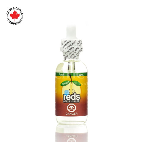 7 Daze - Reds Apple *Mango* Iced EJuice (60mL) vape shop vape store wii vape gta york toronto ontario canada best price cheap #1  shop number one shop in toronto Herbal Vape dry herb concentrates Shatter Dabs Weed Marijuana weed