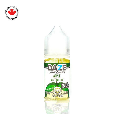 7 Daze - Salt Nic Series Watermelon (30mL) vape shop vape store wii vape gta york toronto ontario canada best price cheap #1  shop number one shop in toronto Herbal Vape dry herb concentrates Shatter Dabs Weed Marijuana weed