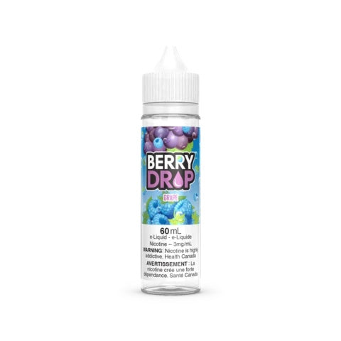 GRAPE BY BERRY DROP 60mll vape shop vape store wii vape gta york toronto ontario canada best price cheap #1  shop number one shop in toronto Herbal Vape dry herb concentrates Shatter Dabs Weed Marijuana weed
