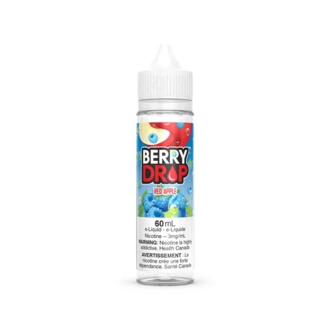 RED APPLE BY BERRY DROP 60ml vape shop vape store wii vape gta york toronto ontario canada best price cheap #1  shop number one shop in toronto Herbal Vape dry herb concentrates Shatter Dabs Weed Marijuana weed