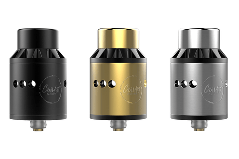 CoilART introduces a new RDA to its Azeroth family. This new 24mm diameter RDA feautures a CoilART patented triple coil deck. Wii Vape,GTA, Toronto, Ontario, Canada, Dash Vapes