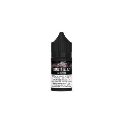 SASQUATCH BY KOIL KILLAZ SALT NIC SAVAGE BY KOIL KILLAZ SALT NIC vape shop vape store wii vape gta york toronto ontario canada best price cheap #1  shop number one shop in toronto Herbal Vape dry herb concentrates Shatter Dabs Weed Marijuana weed