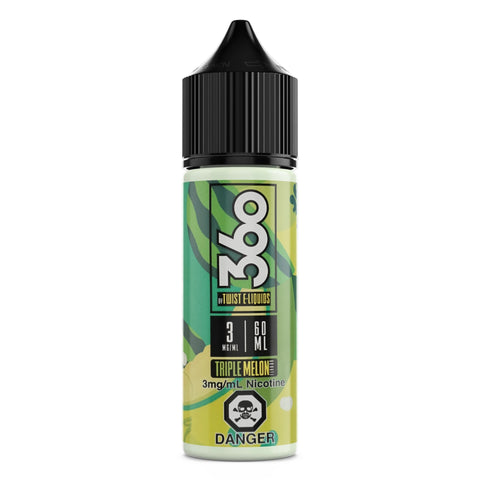 Triple Melon BY Twist E-LIQUID 60ml vape shop vape store wii vape gta york toronto ontario canada best price cheap #1  shop number one shop in toronto Herbal Vape dry herb concentrates Shatter Dabs Weed Marijuana weed