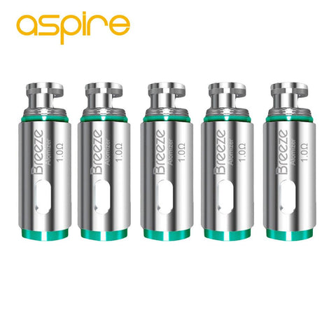 ASPIRE BREEZE 2 Replacement Coils 1.0 ohms wii vape vape shop toronto gta york ontario canada