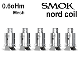 SMOK Nord Mesh Coil 0.6 vape shop wii vape gta york gta toronto ontario canada best price cheap #1 shop number one shop in toronto Herbal Vape dry herb concentrates Shatter Dabs Weed Marijuana