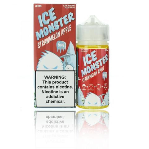 Ice MONSTER - Straw Melon Apple 100mL vape shop wii vape gta york gta toronto ontario canada best price cheap #1  shop number one shop in toronto Herbal Vape dry herb concentrates Shatter Dabs Weed Marijuana weed