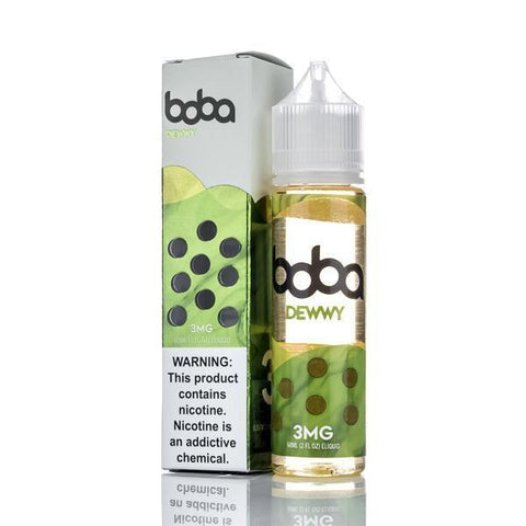 JAZZY BOBA - DEWWY 60ML vape shop vape store wii vape gta york toronto ontario canada best price cheap #1  shop number one shop in toronto Herbal Vape dry herb concentrates Shatter Dabs Weed dash vapes Marijuana weed