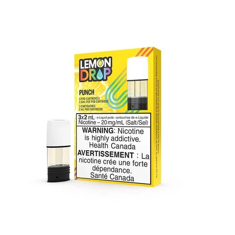 STLTH POD PACK LEMON DROP PUNCH (3 PACK) STLTH Starter Kit vape shop vape store wii vape gta york toronto ontario canada best price cheap #1  shop number one shop in toronto Herbal Vape dry herb concentrates Shatter Dabs Weed Marijuana weed
