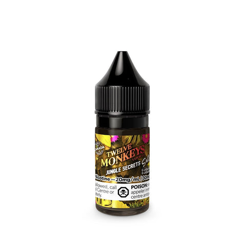 Twelve Monkeys: COL - Jungle Secrets Salt Nic (30mL) vape shop vape store wii vape gta york toronto ontario canada best price cheap #1  shop number one shop in toronto Herbal Vape dry herb concentrates Shatter Dabs Weed Marijuana weed