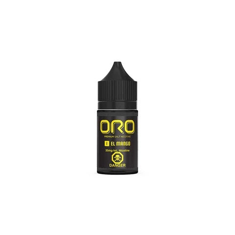 EL Mango BY ORO Salt Nic 30ml vape shop vape store wii vape gta york toronto ontario canada best price cheap #1  shop number one shop in toronto Herbal Vape dry herb concentrates Shatter Dabs Weed Marijuana weed