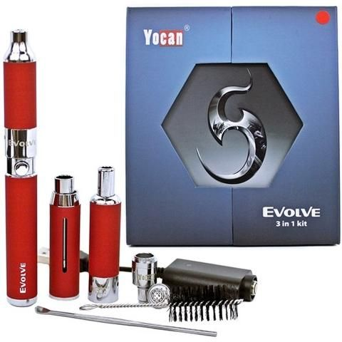 Yocan Evolve 3 in 1 Kit vape shop wii vape gta york gta toronto ontario canada best price cheap #1 shop number one shop in toronto Herbal Vape dry herb concentrates Shatter Dabs Weed Marijuana